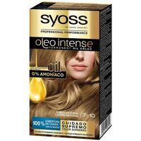 Beauty Damen Haarfärbung Syoss Olio Intense Tinte Sin Amoniaco 7.10-rubio Natural