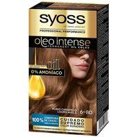 Beauty Damen Haarfärbung Syoss Olio Intense Tinte Sin Amoniaco 6.80-rubio Caramelo