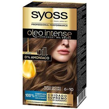 Beauty Damen Haarfärbung Syoss Olio Intense Tinte Sin Amoniaco 6.10-rubio Oscuro