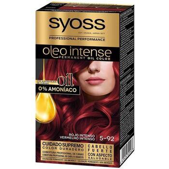 Beauty Damen Haarfärbung Syoss Olio Intense Tinte Sin Amoniaco 5.92-rojo Intenso