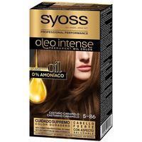 Beauty Damen Haarfärbung Syoss Olio Intense Tinte Sin Amoniaco 5.86-castaño Caramelo