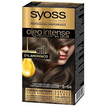 Beauty Damen Haarfärbung Syoss Olio Intense Tinte Sin Amoniaco 5.54-castaño Claro Ceniza