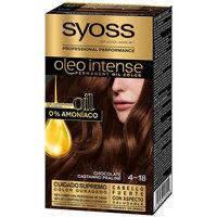 Beauty Damen Haarfärbung Syoss Olio Intense Tinte Sin Amoniaco 4.18-chocolate