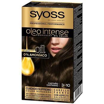 Beauty Damen Haarfärbung Syoss Olio Intense Tinte Sin Amoniaco 3.10-castaño