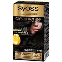 Beauty Damen Haarfärbung Syoss Olio Intense Tinte Sin Amoniaco 1.10-negro Intenso