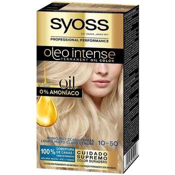 Beauty Damen Haarfärbung Syoss Olio Intense Tinte Sin Amoniaco 10.50-rubio Claro Ceniza
