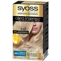 Beauty Damen Haarfärbung Syoss Olio Intense Tinte Sin Amoniaco 9.11-rubio Helado