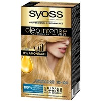 Beauty Damen Haarfärbung Syoss Olio Intense Tinte Sin Amoniaco 10.0-rubio Claro Claro
