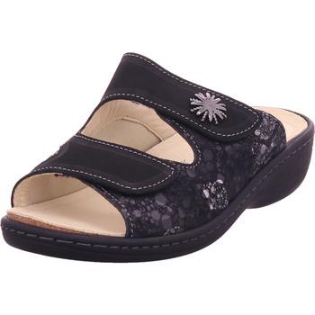 Schuhe Damen Pantoffel Belvida - 10507 schwarz