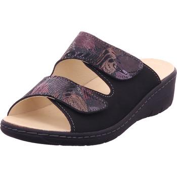 Schuhe Damen Pantoffel Belvida - 42202 schwarz