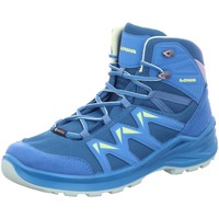 Schuhe Damen Wanderschuhe Lowa Sportschuhe Innox pro GTX mid 650 116-6952 blau