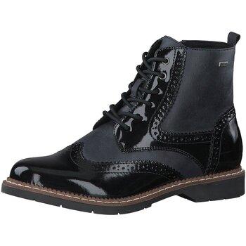 Schuhe Damen Boots S.Oliver Stiefeletten 5-5-25465-27/891 blau
