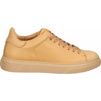 Schuhe Damen Sneaker Low Steven New York Sneaker Camel