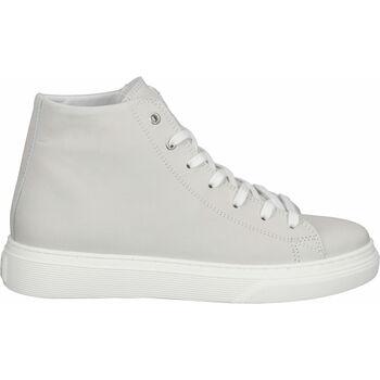 Schuhe Damen Sneaker High Steven New York Sneaker Weiß