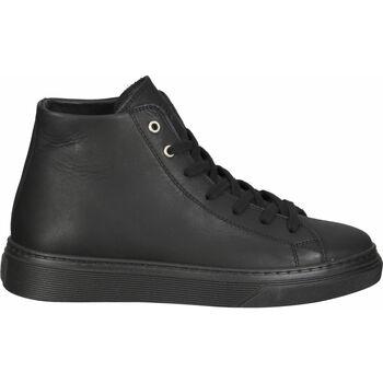 Schuhe Damen Sneaker High Steven New York Sneaker Schwarz