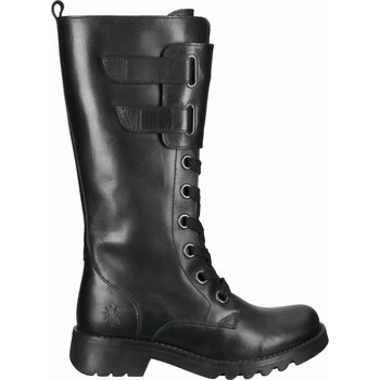 Schuhe Damen Klassische Stiefel Fly London Stiefel Schwarz