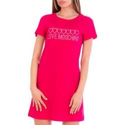 Kleidung Damen Kurze Kleider Love Moschino W592915M3876 Rose