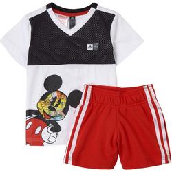 Kleidung Jungen Kleider & Outfits adidas Originals - Tuta bianco GM6930 BIANCO