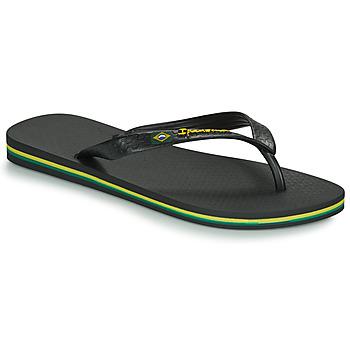 Schuhe Herren Zehensandalen Ipanema CLASSICA BRASIL II Schwarz