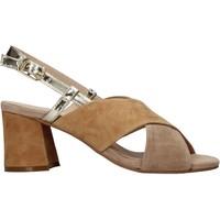Schuhe Damen Sandalen / Sandaletten Carmens Padova 45310 Braun