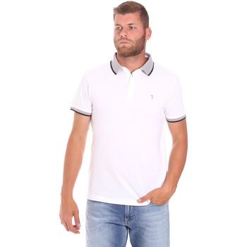 Kleidung Herren Polohemden Trussardi 52T00491-1T003600 Weiß