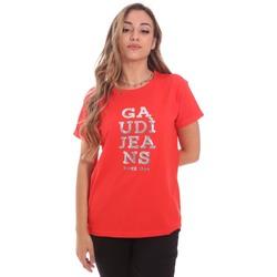 Kleidung Damen T-Shirts Gaudi 111BD64063 Rot