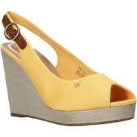 Schuhe Damen Sandalen / Sandaletten Wrangler WL01521A Gelb