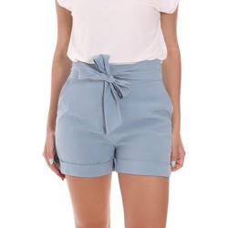 Kleidung Damen Shorts / Bermudas Gaudi 111BD25009 Blau