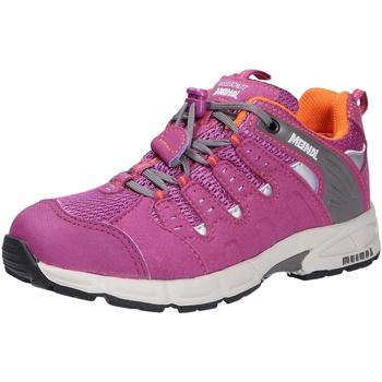 Schuhe Mädchen Wanderschuhe Meindl snap junior, Mädchen Outdoorschuh rosa/pink