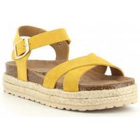 Schuhe Mädchen Sandalen / Sandaletten Obi Shoes PALA CRUZADA jaune