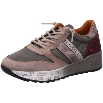 Schuhe Damen Sneaker Low Cetti Schnuerschuhe C847ANTE USED OLD ROSE beige