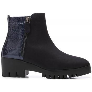 Schuhe Damen Low Boots 24 Hrs 24 Hrs mod.21596 Blau