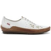 Schuhe Damen Pumps Fluchos Callaghan mod.41116 Weiss