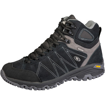 Schuhe Herren Wanderschuhe Brütting Mount Kapela High schwarz