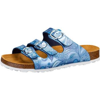 Schuhe Damen Pantoffel Lico Bioline Lady Power blau