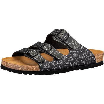 Schuhe Damen Pantoffel Lico Bioline Lady Soft schwarz