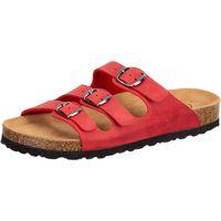 Schuhe Damen Pantoffel Lico Lucia rot