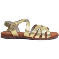 Schuhe Damen Sandalen / Sandaletten Gennia ALEXIA Prägeleder gold-platin Other