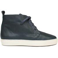 Schuhe Damen Boots Gennia BRISA Leder Grau Grau