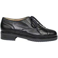 Schuhe Damen Derby-Schuhe Gennia JANET Schwarz Rindsleder Schwarz