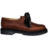 Schuhe Damen Derby-Schuhe Gennia KRISTEL Braun Leder Farbton Habano Braun