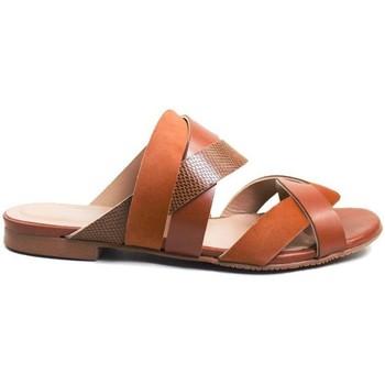 Schuhe Damen Sandalen / Sandaletten Gennia LEIA Veloursleder, Nappaleder und Prägung
