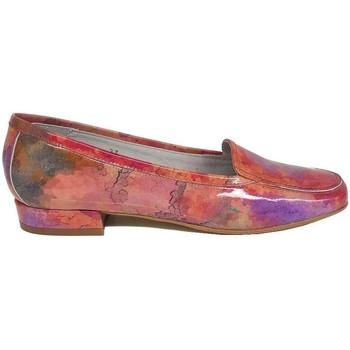 Schuhe Damen Slipper Gennia MAGIC Gravierte Multicolor Croco