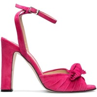 Schuhe Damen Sandalen / Sandaletten Gennia NEUS Pink Veloursleder Pink