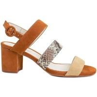 Schuhe Damen Sandalen / Sandaletten Gennia  Braun