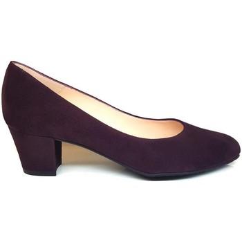 Schuhe Damen Pumps Gennia KATE Violett Veloursleder Violett