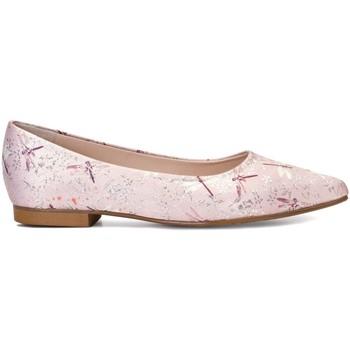 Schuhe Damen Ballerinas Gennia Valeria Hell Pink Silber Pink