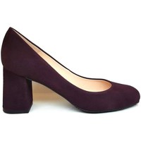 Schuhe Damen Pumps Gennia VIVA Lila Veloursleder Violett
