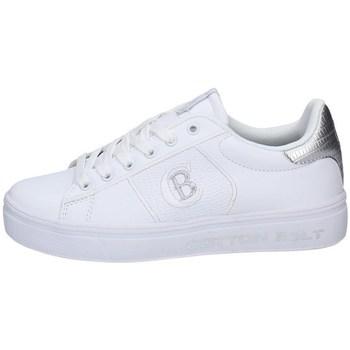 Schuhe Damen Sneaker Low Cotton Belt CBW114080/04 WEISS