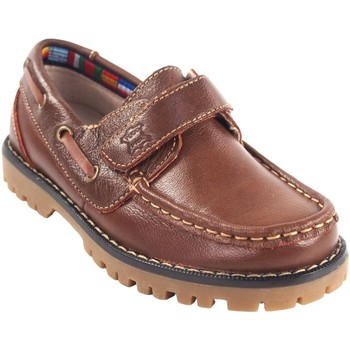 Schuhe Jungen Bootsschuhe Bubble Bobble BOBBLE a766 braun Braun